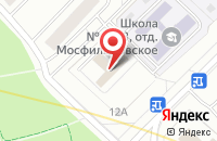 Схема проезда до компании Улотана Проект в Москве