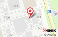 Схема проезда до компании Ирида Про в Москве