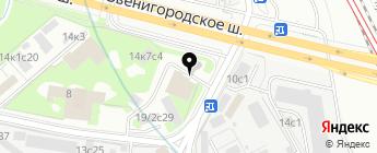 MB Comand на карте Москвы