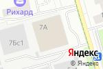 Схема проезда до компании Зорге 7 в Москве