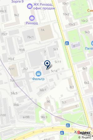 АВТОСЕРВИСНОЕ ПРЕДПРИЯТИЕ ТРАСТКОНСАЛТ на карте Москвы