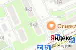 Схема проезда до компании ВиК Теплострой-М в Москве