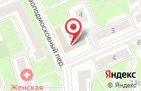 Схема проезда до компании Кранкэс в Москве