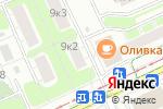 Схема проезда до компании Стройгруппа Гэйл в Москве