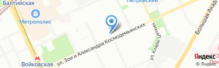 СервисГрад на карте Москвы