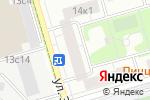 Схема проезда до компании БЕРТ-М в Москве