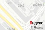 Схема проезда до компании Гельветика М в Москве