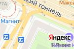 Схема проезда до компании Всё для дома в Москве