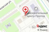 Схема проезда до компании Генерал Авиа в Москве