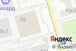 Схема проезда до компании Тендерное бюро В.А. Кожухова в Москве