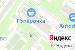 Схема проезда до компании Зухра в Москве