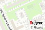 Схема проезда до компании Национальный центр стандартизации и сертификации гражданского и служебного оружия в Москве