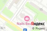 Схема проезда до компании Секретная точка в Москве