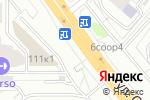 Схема проезда до компании Айс Маркет в Москве
