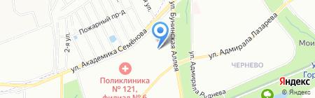 Средняя общеобразовательная школа №1492 с дошкольным отделением на карте Москвы