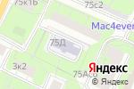Схема проезда до компании Детский сад №2730 в Москве