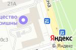 Схема проезда до компании КСРК ВОС в Москве