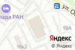 Схема проезда до компании Матрас Маркет в Москве