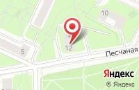 Схема проезда до компании Элекс Инжиниринг в Москве