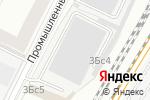 Схема проезда до компании Detailing-alarm в Москве