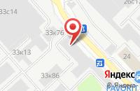 Схема проезда до компании Солярис А в Москве