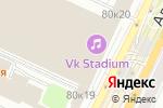 Схема проезда до компании МОЛЛ в Москве