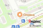 Схема проезда до компании Все для дома в Москве