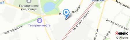 Бинова Кэмикал на карте Москвы