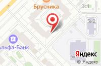 Схема проезда до компании Финансовые Инициативы в Москве
