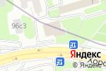 Схема проезда до компании MEBELGOLD в Москве