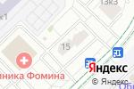 Схема проезда до компании Альфа мед в Москве