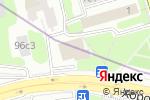Схема проезда до компании Империя Комфорта в Москве