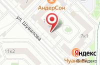 Схема проезда до компании Алпо Инвест в Москве