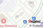 Схема проезда до компании МКА Советникъ в Москве