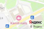 Схема проезда до компании СКОРПИОН-Н в Москве