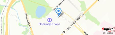 НетАП на карте Москвы