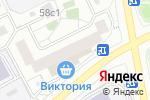 Схема проезда до компании МосОптика в Москве