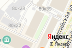 Схема проезда до компании Intervale в Москве