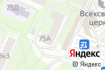 Схема проезда до компании Отдел МВД России по району Сокол г. Москвы в Москве