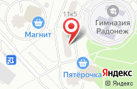 Схема проезда до компании Вп Реклама в Москве