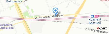 АКВО на карте Москвы