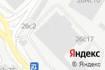 Схема проезда до компании Замкофф в Москве