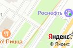 Схема проезда до компании Альфа парк в Москве