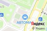 Схема проезда до компании AGA-Автомаг в Москве