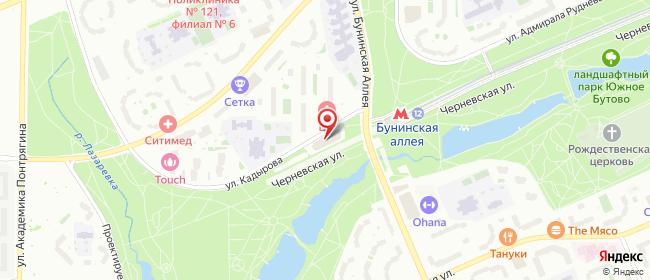 Карта расположения пункта доставки Москва Кадырова в городе Москва