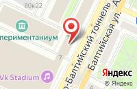 Схема проезда до компании Лаборатория Интерактивного Дизайна в Москве