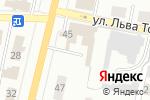Схема проезда до компании Газметаллпроект в Щёкино