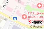 Схема проезда до компании Щёкинская районная больница в Щёкино