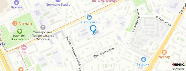 переулок Новоподмосковный 3-й