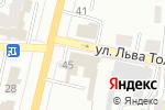 Схема проезда до компании Экспресс в Щёкино